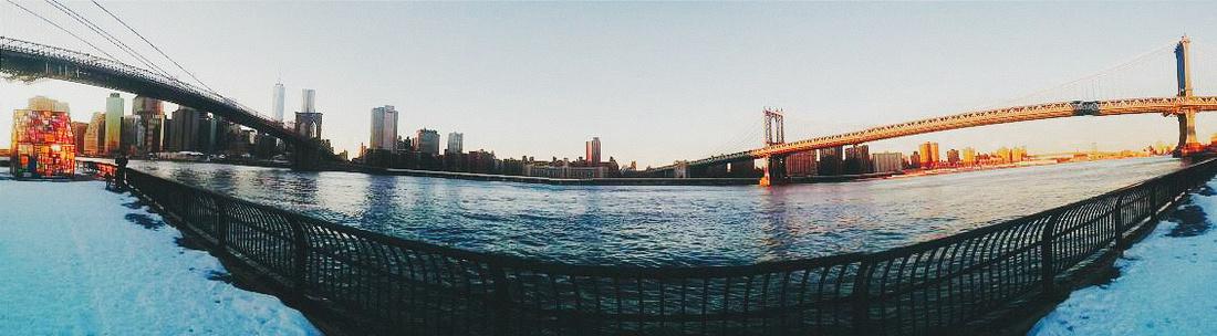 Brooklyn + Manhattan Bridges